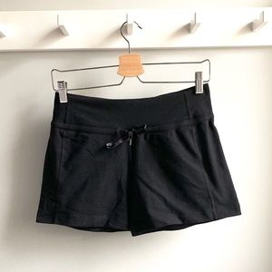 Lululemon Spandex Shorts with Front Tie